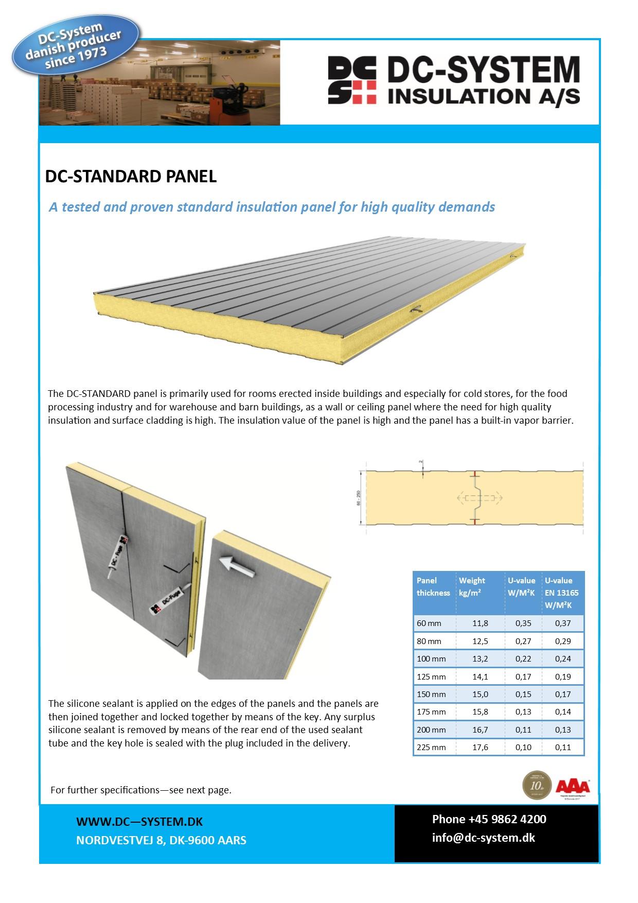 DC-Standard Panel