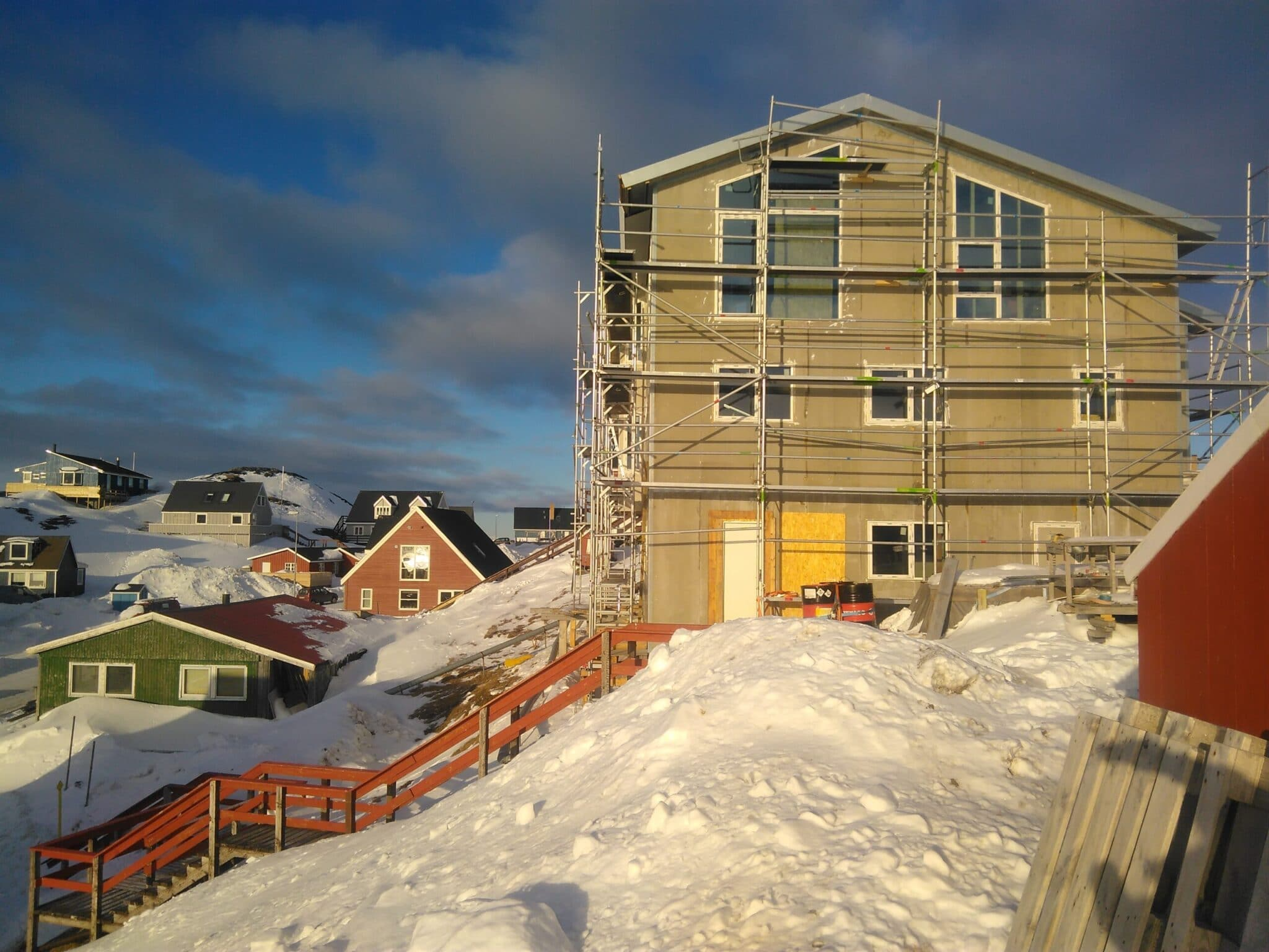 Housing Development In Nuuk Greenland ⋆ Dc System