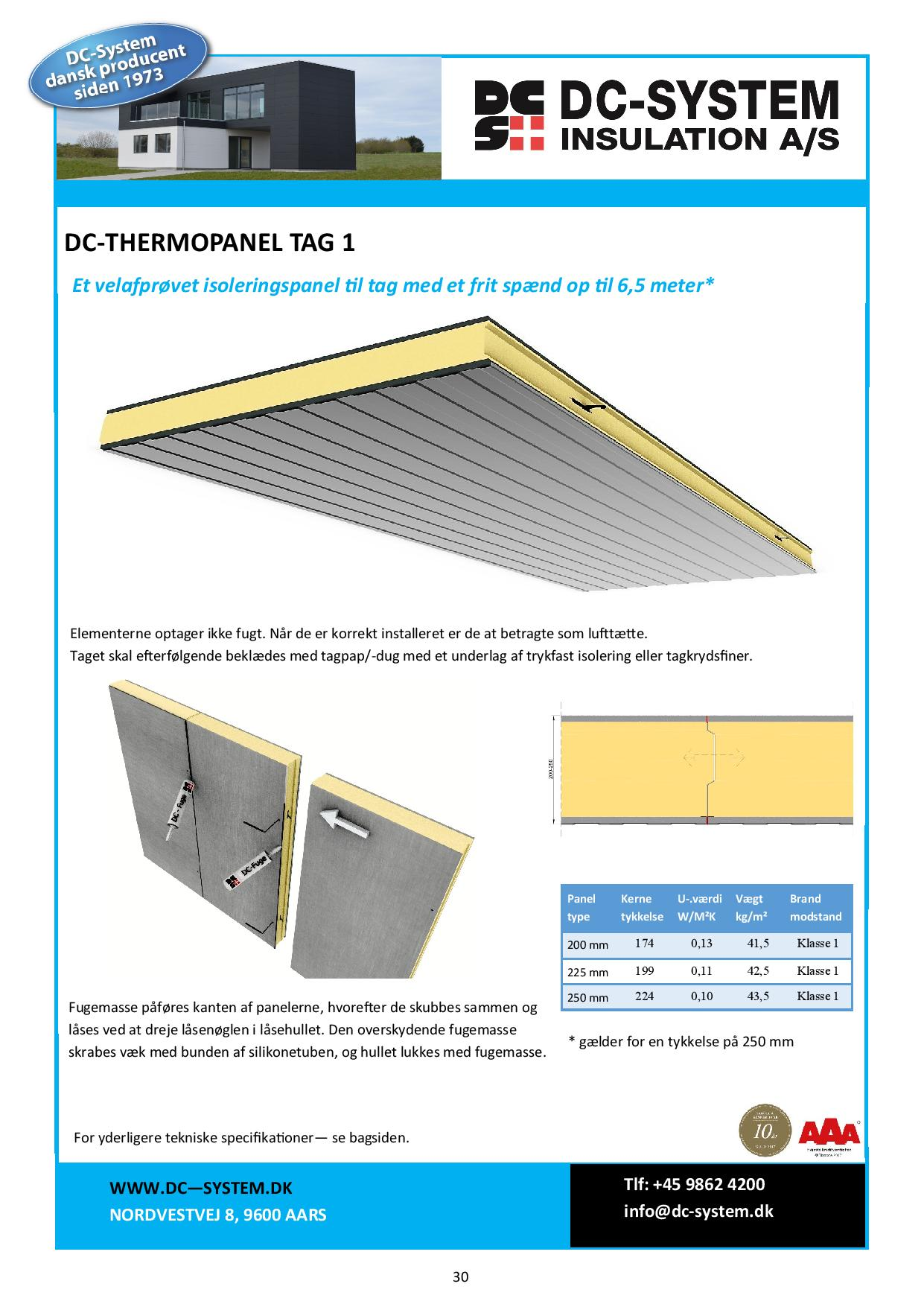 Thermopanel tag 1-